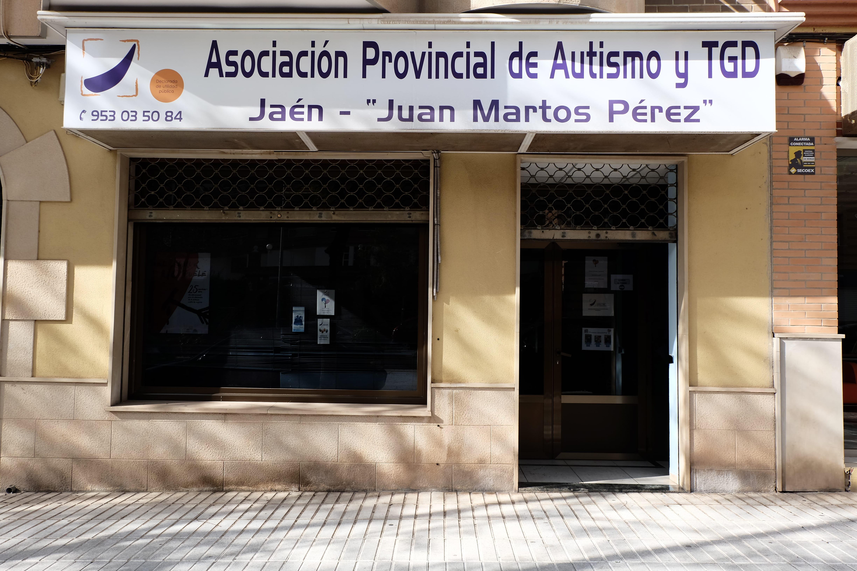 Principal sede Linares autismo jaén