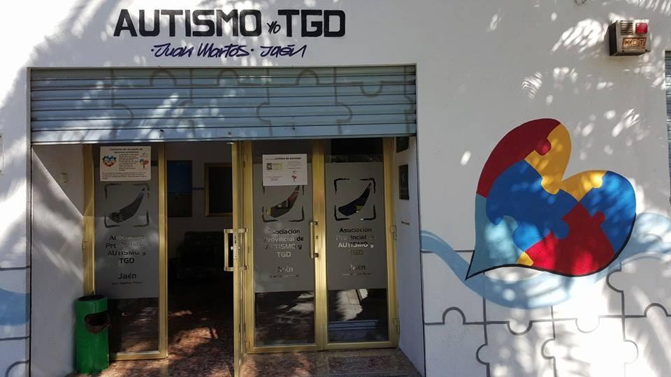 Entrada principal sede autismo jaén